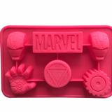 Forma Silicone Iron Man Homem De Ferro Gelo Chocolate