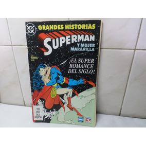 Comic Superman Y Mujer Maravilla Romance Siglo Perfil