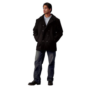 Saco Rothco De Marinero Us Navy Type Pea Coat