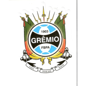 Lindíssimo Adesivo Do Grêmio - Brasão Do Rs - Vejam A Foto !