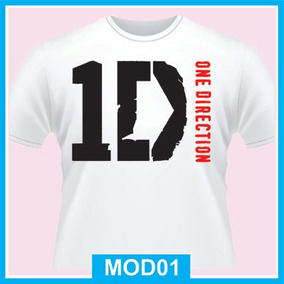 Camiseta One Direction, Banda Teen, Musica, 1d