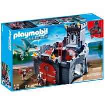 Juguete Playmobil Caballeros Del Dragón Castillo Gris