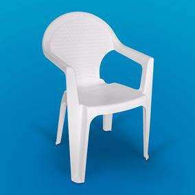 Silla De Plástico Reforzada Mod. Florencia Colores - Sp0300
