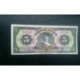 Billete Antiguo Sin Circular 5 Pesos Gitana 1958 Nuevo
