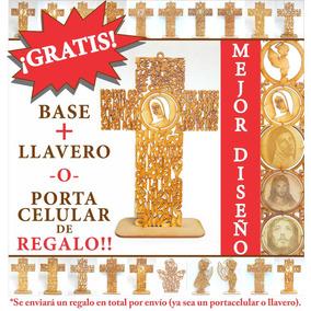 Cruces Oración Ave María 18 Cm Mdf Recuerdos Luctuosos