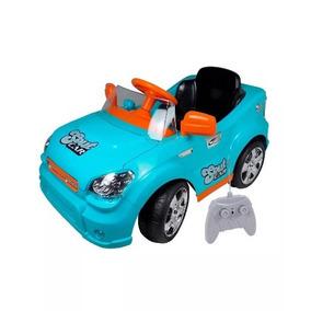 Mini Carro Eletrico Infantil C/ Carregador E Controle Remoto