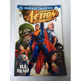 Universo Dc Renascimento Superman Action Comics N° 1 - 2017