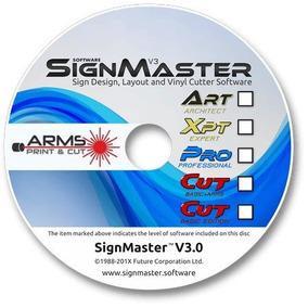 Signmaster Cut V3.0 Basic Edition Para Foison Com Mira Laser
