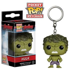 Hulk Pop! Funko Chaveiro Marvel Vingadores Avengers Hulk