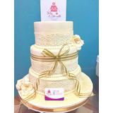 Torta De Matrimonio,aniversario,15 Años + Cupcakes