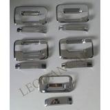 Kit Cromado Para Manillas Ford F-150 Fx4 D/cabina. 10 Piezas