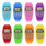 Reloj Calculadora Niños (as) Mayor Y Unidad