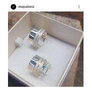 Aliança Em Prata 15mm Diamantada ( Unidade )