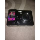 Camara Digital Sanyo Vpc-s650 6.0mpx + Funda Y Memoria 2gb