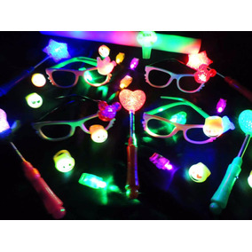 Combo Cotillón Luminoso 150 Art - 50 Personas - Multicolor