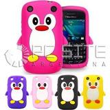 Funda Protector Silicona Pinguino Blackberry 9220 9330 Curve