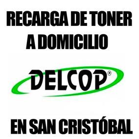 Recarga De Toner Delcop En San Cristobal