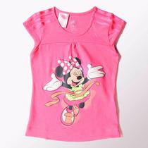 Remera Adidas Disney Minnie Niñas