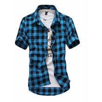 Camisa Xadrez Quadriculada Frete Grátis