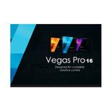 Sony Vegas Pro 16 - Programa Editor De Video - 64bits