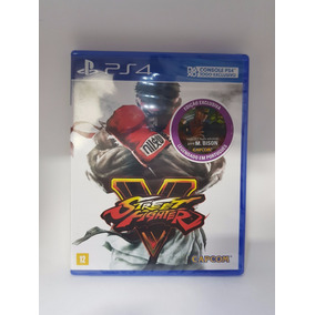 Jogo Street Fighter V - Ps4 Lacrado