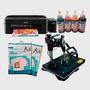 Impresora Epson L220 + Sublimadora 8 En 1 Estampa De Todo!
