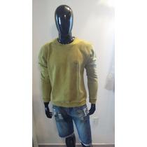 Moleton Blusa Casaco Osklen Origina Masculino L Cod: 971