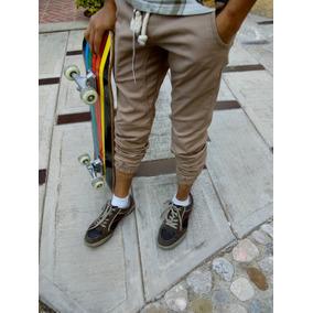 Pantalon Jogger Gabardina Juvenil Mayoreo