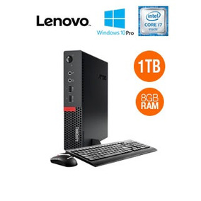 Computadora Lenovo Thinkcentre M710q Tiny, Intel Core I7-770