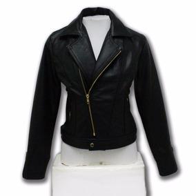Jaqueta De Couro Legítimo Feminina Motoqueiro Perfecto 215