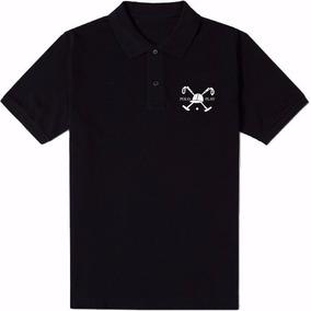 Camisa Polo Play Preta Com Faixa Vermelha G Leilão A R  1 c576a50eeb72e