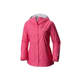 Campera Columbia Mujer Impermeable Original