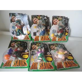 Familia Dinossauro Hasbro Disney 6 Bonecos Coleção Raro