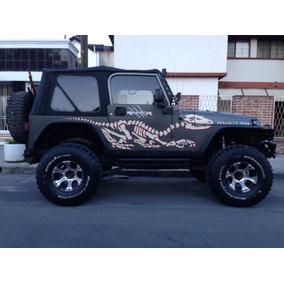 Toldo Suave Jeep Wrangler 3 Ventanas Nuevo Y Accesorios