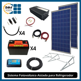 Paneles Solares Energía Solar 640wp Para Refrigerador