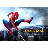 Tarjeta Invitación Cumpleaños Video Spiderman Homecoming