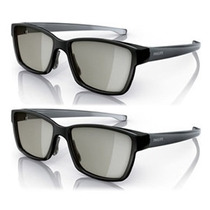 Oculos 3d Philips Universal Passivo Lg Sony Jvc Toshiba