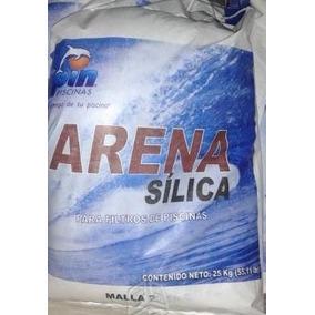Arena Silica Malla 20/30 Marca Spin P/ Filtro Costal De 25kg