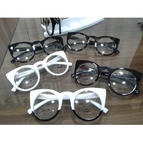 bfa5a5d80b9bb Armação Para Óculos De Grau Estilo Cat Eye - Óculos Armações no ...