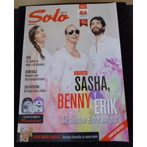 Revista Solo Sasha Benny Erik Domenica Kany G Matisse R Gere