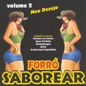 Cd - Forró Saborear - Meu Desejo - Volume 2