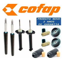 04 Amortecedores Gol G3 G4 Cofap + Kit + Coxim