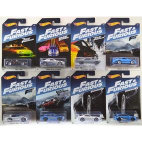 Hot Wheels 2017 Fast & Furious Rapido Y Furioso Paquete De 8