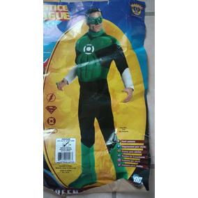 Disfraz Linterna Verde Con Musculos Adulto Hombre Talla M