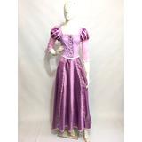 Disfraz Princesa Rapunzel Vestido De La Película De Disney!