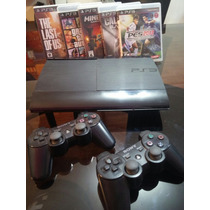 Play Station 3, Impecable, 1 Joystick Y Con 2 Juegos! 500gb