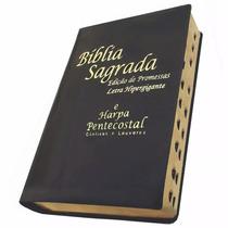 Bíblia Sagrada Com Harpa Pentecostal Letra Hipergigante
