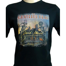 Camiseta The Grateful Dead Jerry Garcia Dead Ahead Tam. P