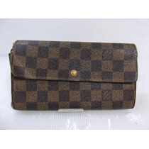 Cartera Louis Vuitton 100% Original Wallet Damier Ebene