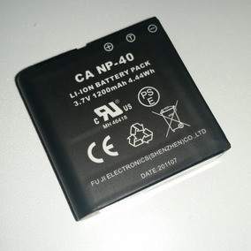 Batería Ca Np-40 Video Cámara Lv-53x Envío Gratis Nueva